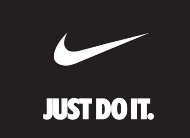 Example of Nike - Just do it Logo design