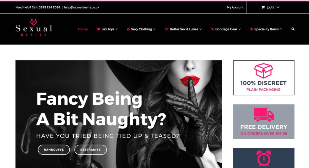 Online Sex Shop Sexual Desire